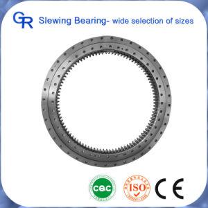 Excavator Single Row Internal Gear Slewing Bearings for Komatsu