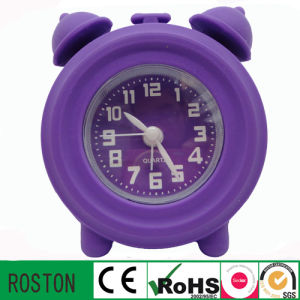 Wholesale Silicon Mini Table Customised Alarm Clock pictures & photos