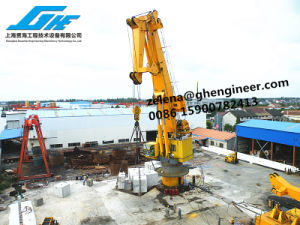 API-2c, ABS Cerficate Knuckle Boom Deck Crane pictures & photos