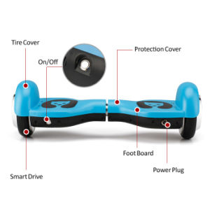 Smartek 4.5 Inch 2 Wheels Drifting Scooter Self Balance Scooter Two Wheel Electric Scooter Patinete Electrico for Children S-003 pictures & photos