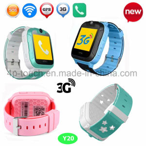New Hot Selling 3G Kids GPS Tracker Watch with Sos Button Y20 pictures & photos