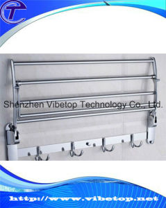 New Style Stainless Steel Folding Hotel Style Bathroom Towel Rack pictures & photos