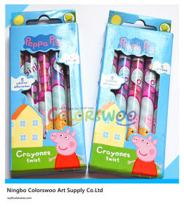 5PCS Rotatable Crayon for Kids and Students pictures & photos