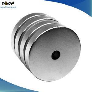 N35-N52 Disk Neodymium Permanent Magnets in Motor, Generator, Pump, Magnetic Separator Application pictures & photos