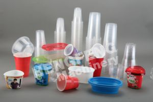 Inline Extrusion & Thermoforming for Plastic PP/PS Cup pictures & photos