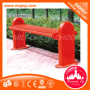 Modern Outdoor Stainless Steel Benches Red Park Benches pictures & photos