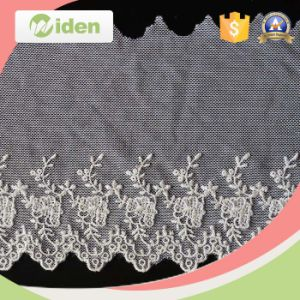 Nylon Lace Fabric Embroidered Stone Flower Embroidery Lace pictures & photos