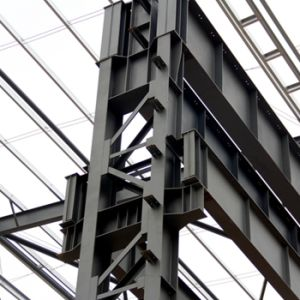Heavy Steel Structure with 50 Tons Crane pictures & photos