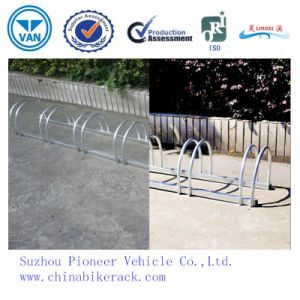 Hot Sale Outdoor Hot Galvanized Bike Stand pictures & photos