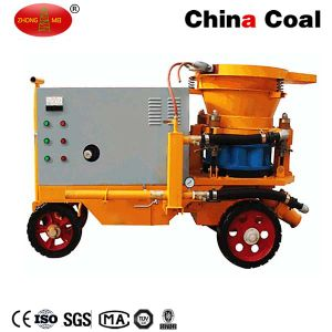 Hsp Series Shotcrete Machine China Coal Wet-Mix Concrete Spraying Machine pictures & photos