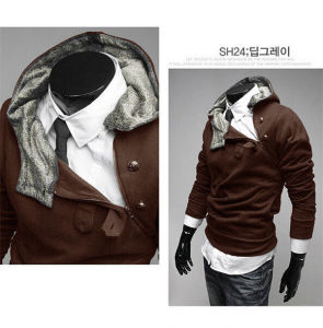 2015 Fashion Winter Men Hooded Sweater (14319) pictures & photos