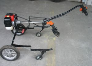2-Stroke Gasoline Portable Earth Auger (CY-490B) pictures & photos