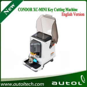 2016 English Version Condor Xc-Mini Key Cutting Machine Update Online pictures & photos