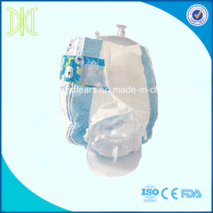 PE Backsheet and PP Tape Disposable Baby Diaper for Africa Market pictures & photos