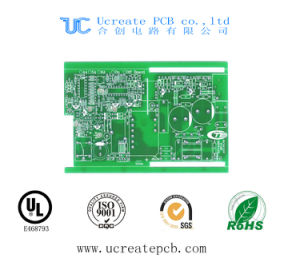 High Quality PCB for Power Amplifier with Green Solder Mask pictures & photos