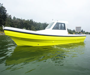 30FT New Conditions Fiberglass Motor Power Boat for Sale pictures & photos