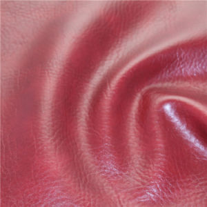 China Manufacturer Synthetic PVC Leather for Furniture (688#) pictures & photos