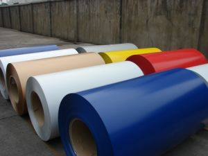 PVDF Color Coated Aluminum Roofing Coil pictures & photos