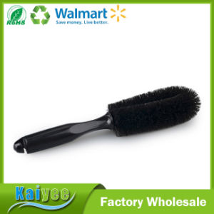 Black Cleaning Soft Bristle Car Wash Brush with ABS Handle pictures & photos
