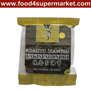 Roasted Yaki Sushi Nori 50 Sheets Green Grade pictures & photos