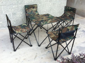 4persons Folding Camping Chair with Desk pictures & photos