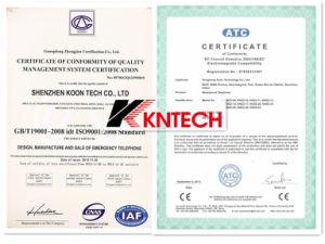Kntech Emergency Telephone SIM Phone Knsp-18 Kntech Tunnel Telephones pictures & photos