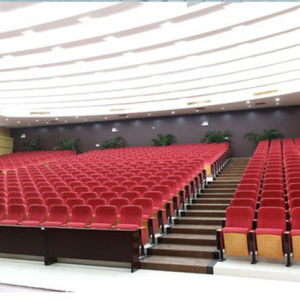 Conference Seat, Auditorium Seat, Push Back Auditorium Chair, Plastic Auditorium Seat Auditorium Seating, Conference Hall Chairs (R-6174) pictures & photos