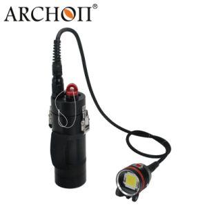 New 20, 000lumen Dive Flashlight Waterproof 100meters pictures & photos