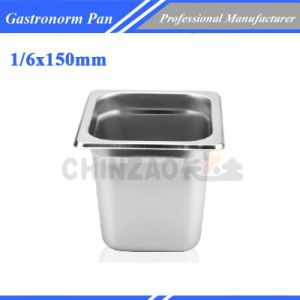 Gn Tray Stainless Steel Gastronome Container /Food Warmer Tray1406A pictures & photos