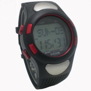 Unisex Fashion Design Silicone Stopwatch pictures & photos
