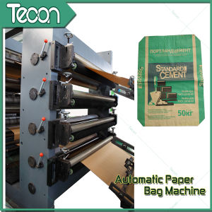 Auto Machine Made Cement Sack Kraft Paper Bag Cement Bag pictures & photos