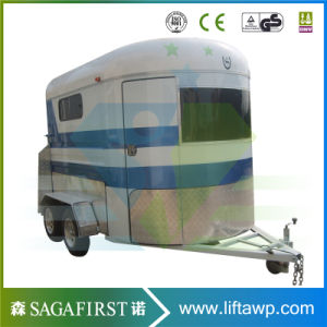 Horse Float with Living Area, Custom Camping Horse Float pictures & photos