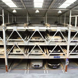 Prefab Light Steel Car Parking Structure (WZG60) pictures & photos
