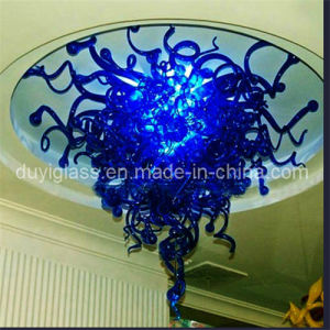 Blue Blown Glass Pendant Lighting for Ceiling Decoration
