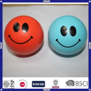 Customized Kid Like PU Smily Face Stress Ball pictures & photos