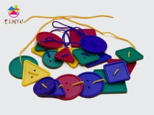 Kindergarten Early Education Supplies Lacing Buttons/Kids Toy (K005) pictures & photos