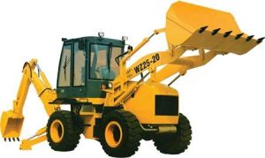 Low Price Cheap Price Backhoe Loader of 4X4 pictures & photos