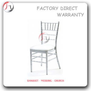 Silver Coloured Hiring Modern Chiavari Chair (AT-86) pictures & photos