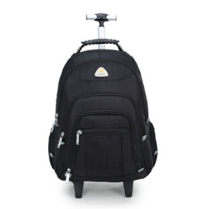 Wheeled Trolley Laptop Computer Business Travel Backpack (CY6894) pictures & photos