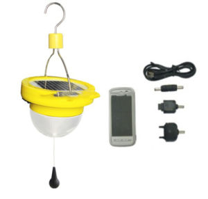 Waterproof IP 65 Solar Lantern with USB Connector Can Charge Mobile Phones pictures & photos