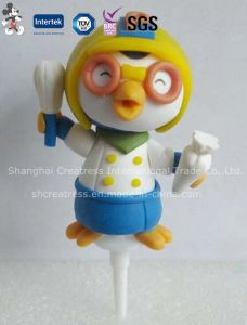 Polymer Clay Cartoon Cake Decorations, Christmas Decoration pictures & photos