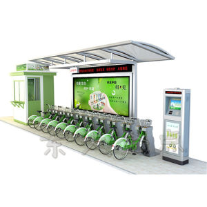 Public Bike-Olive Drab Modern Style Management Booth pictures & photos