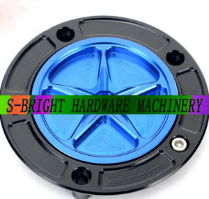 CNC Billet Keyless Light Weight Fuel Gas Tank Cap for Motorcycle Motorbike pictures & photos