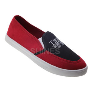 Canvas Injection Slip on Shoes for Men