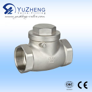 Thread BSPT Swing Check Valve pictures & photos