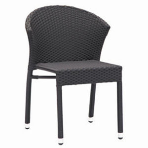 PE Wicker Dining Chair with Aluminum Frame (RC-06027) pictures & photos