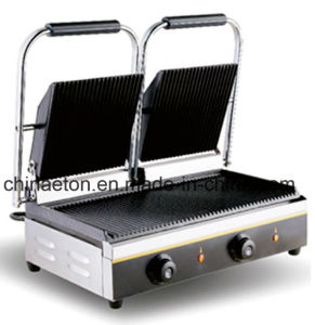 CE Certificate Electric Contact Double Grill (ET-YP-2A1S) pictures & photos