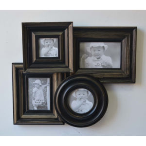 Antique Collage Frame for Wall in 4 Opening pictures & photos