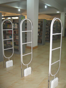 Library Anti-Theft System Em Security Gate pictures & photos