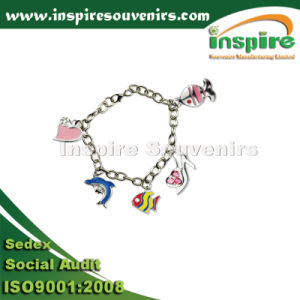 Fashionable Gift of Fish Silver Plated Bracelet pictures & photos